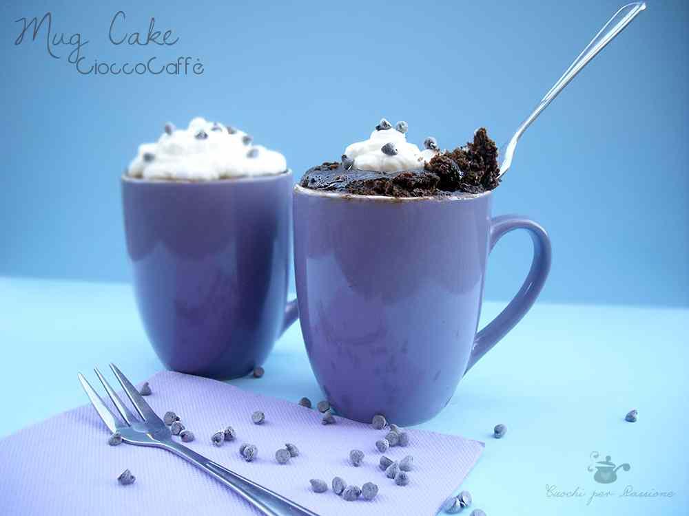 Ricetta: Mug Cake CioccoCaffe