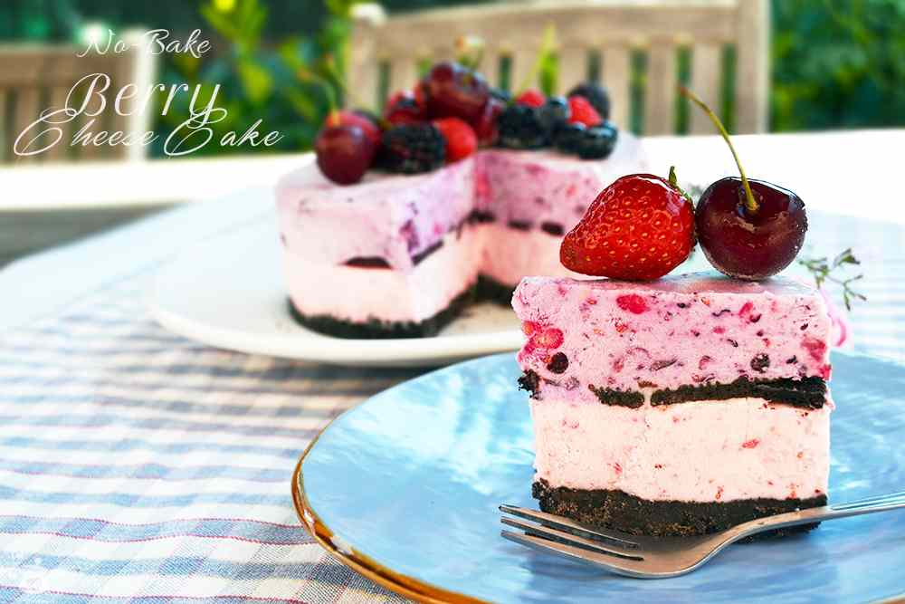 Ricetta: No-Bake Berry CheeseCake