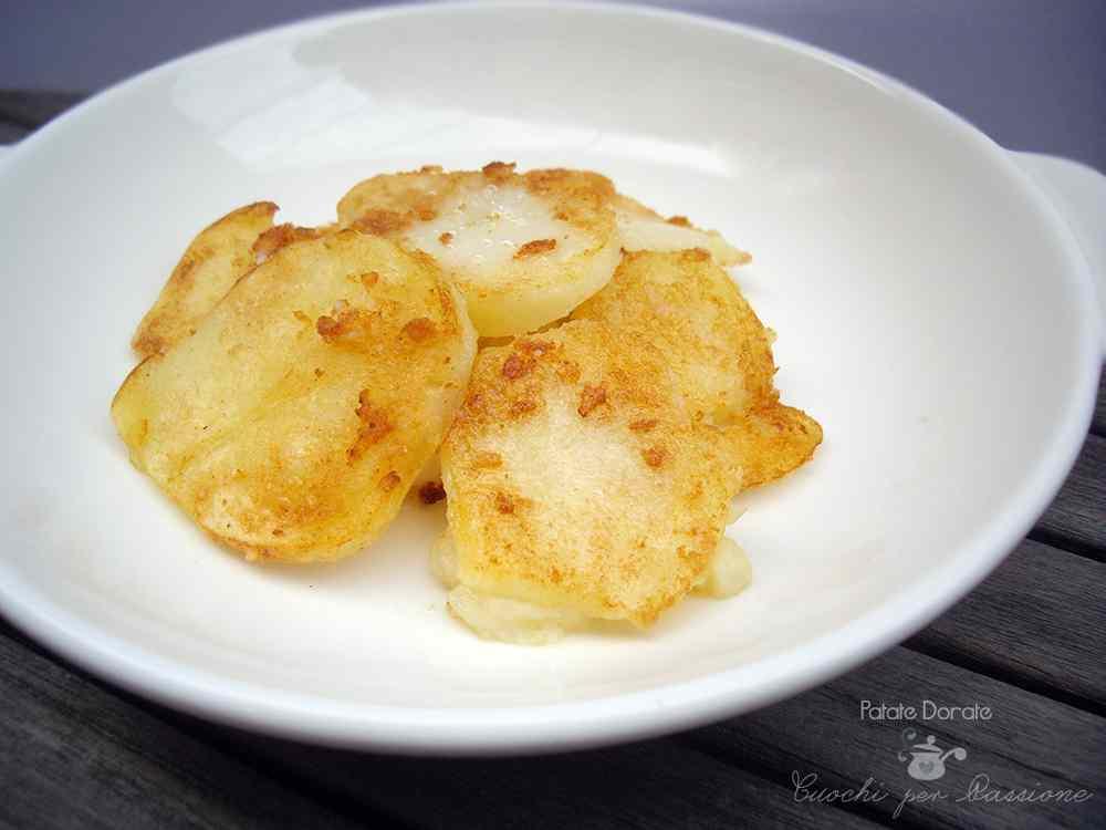 Ricetta: Patate Dorate