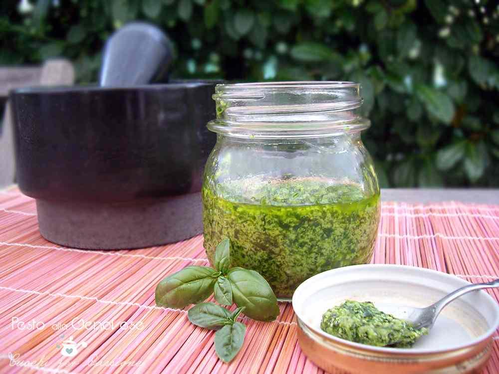 Ricetta: Pesto alla Genovese