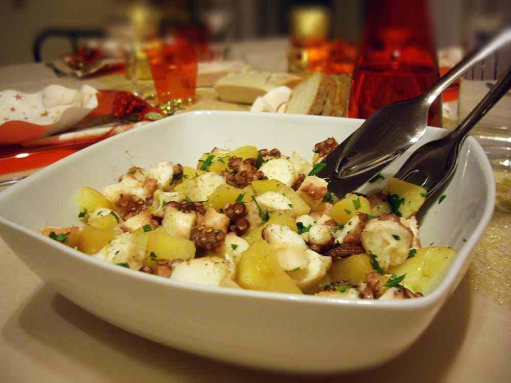 Ricetta: Polipo con Patate
