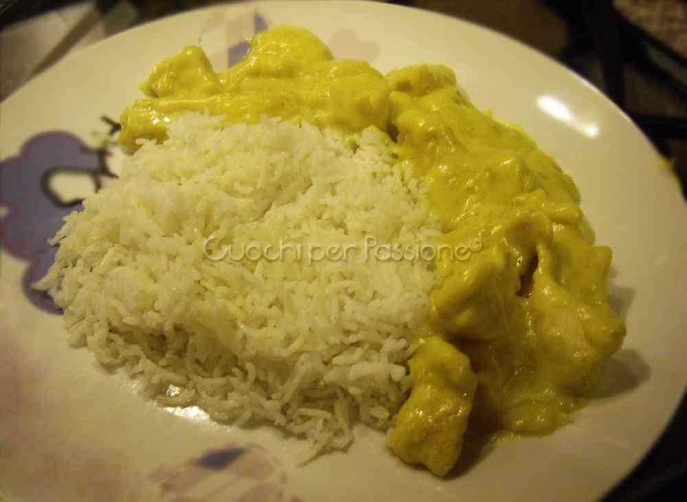 Ricetta: Pollo al Curry con Riso Basmati