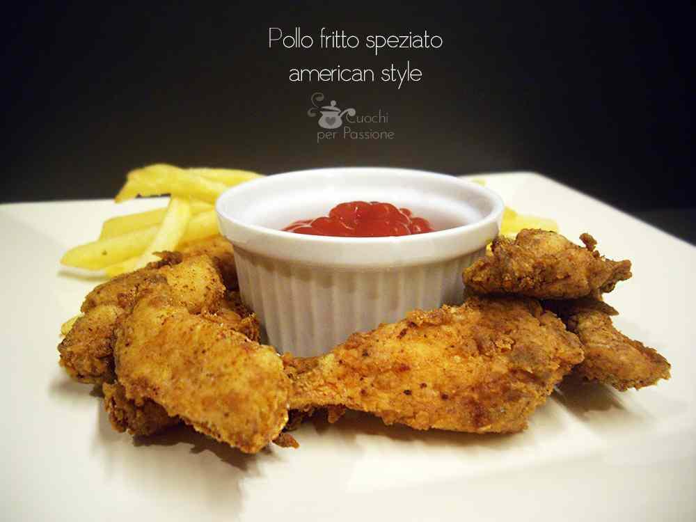 Ricetta: Pollo Fritto Speziato - American Style
