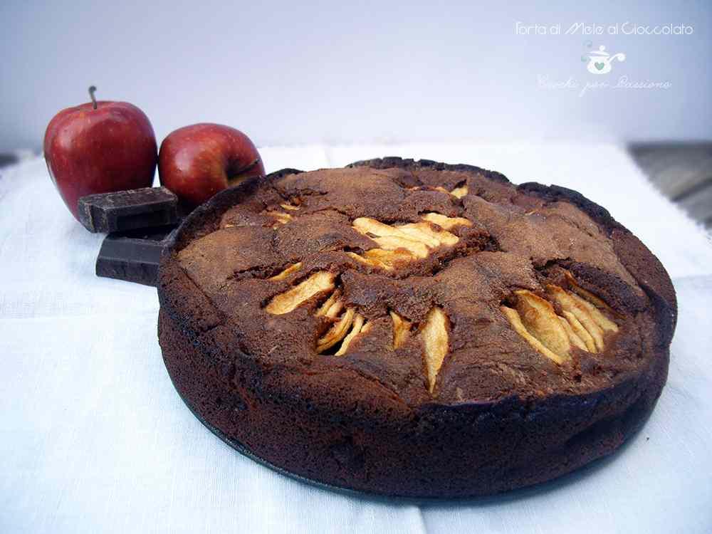 Ricetta: Torta di Mele al Cioccolato