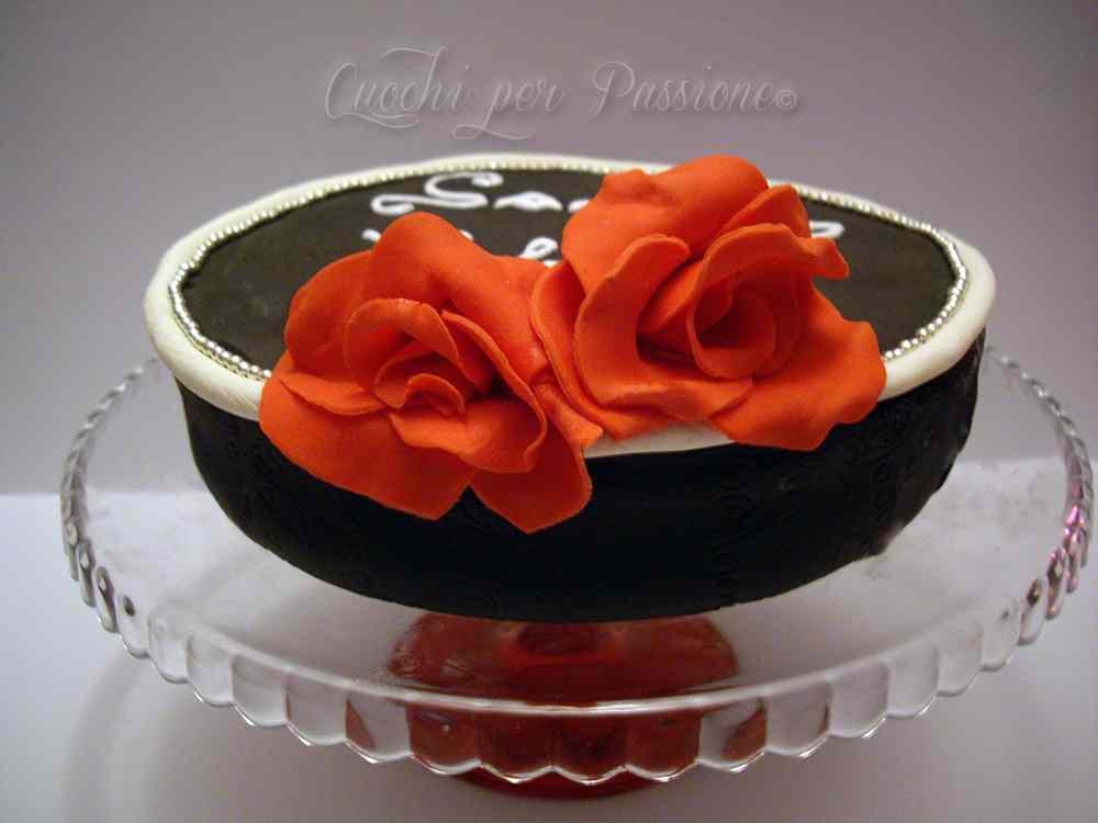 Ricetta: Torta San Valentino (base pan di spagna)