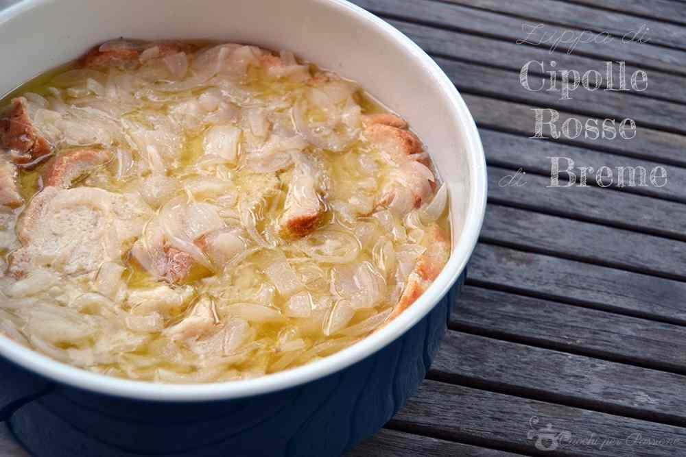 Ricetta: Zuppa di Cipolle Rosse di Breme