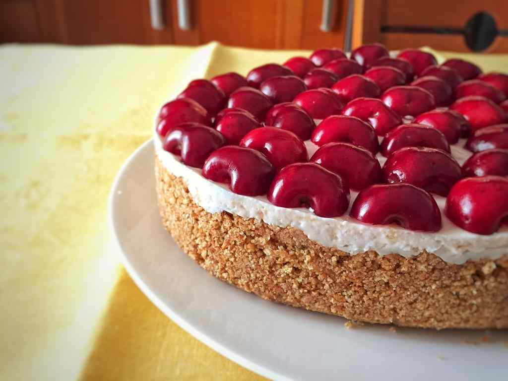 Ricetta: Cheesecake alle ciliege