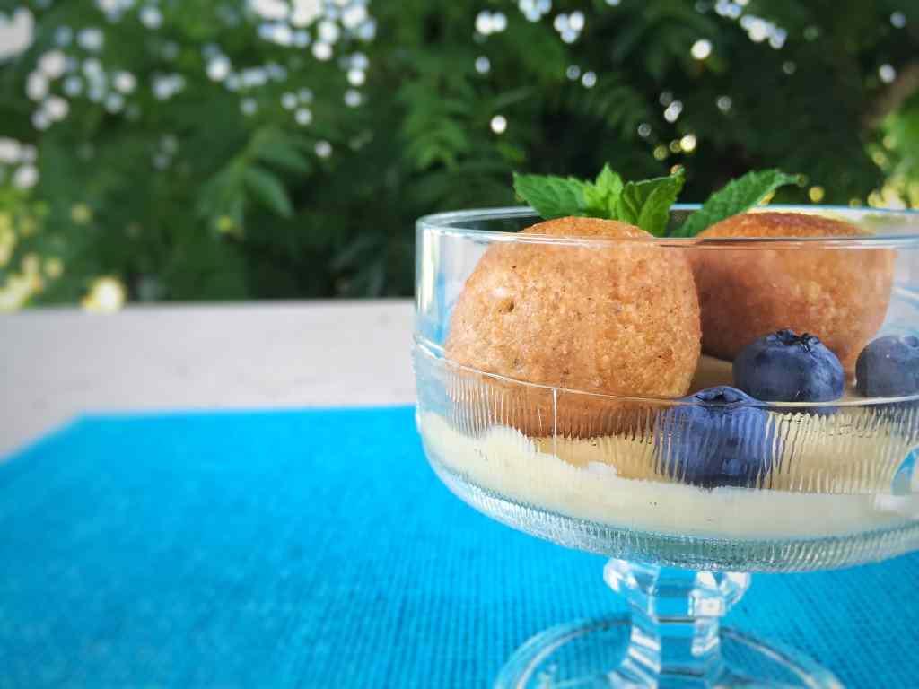 Ricetta: Polpette dolci di cuscus con crema alla cannella
