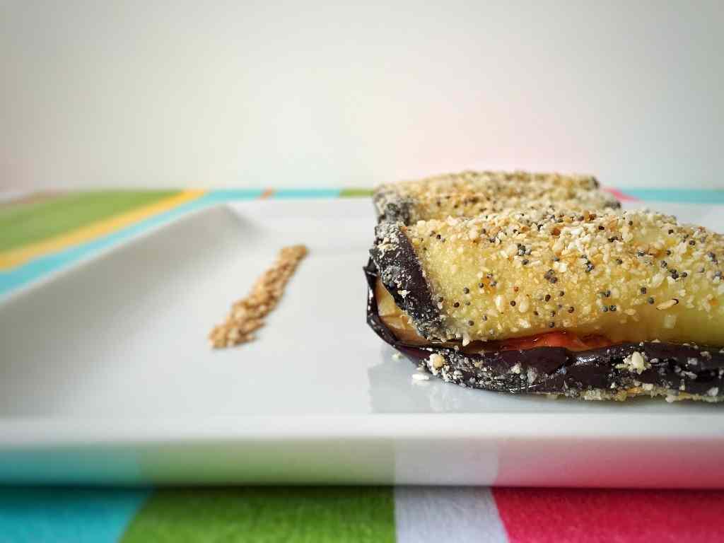 Ricetta: Involtini di melanzane con salmone e mango