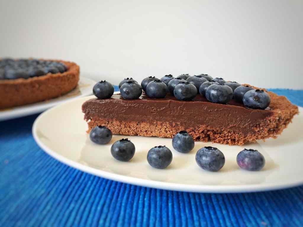 Ricetta: Crostata con cioccolato e mirtilli