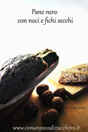 Ricetta: Lunga lievitazione: pane nero con noci e fichi secchi