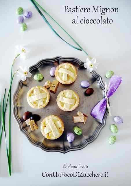 Ricetta: Pastiere mignon al cioccolato