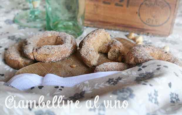 Ricetta: Ciambelline al vino