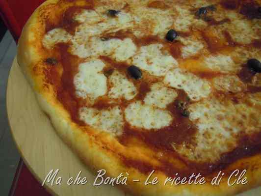 Ricetta: La pizza di Cle