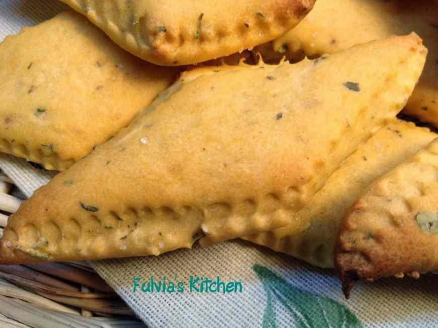 Ricetta: Crackers gusto pizza con pasta madre