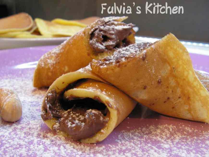 Ricetta: Pancakes nocciolosi alla Nutella