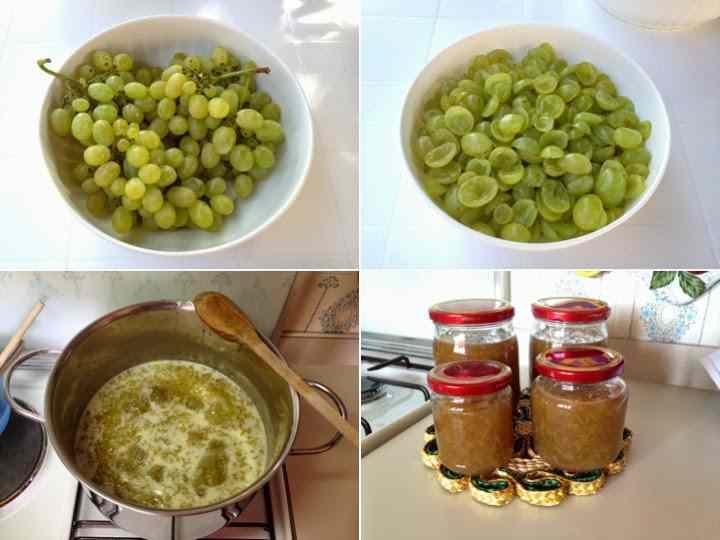 Ricetta: Marmellata di uva