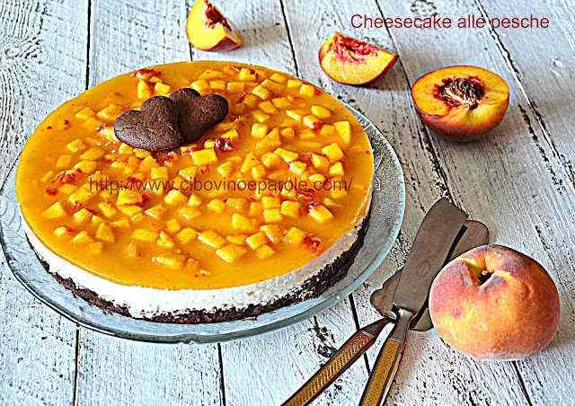 Ricetta: Cheesecake alle pesche