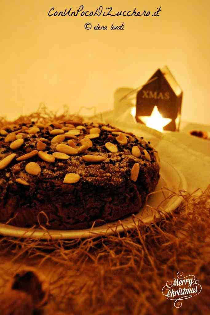 Ricetta: Torta alle noci e cioccolato senza burro