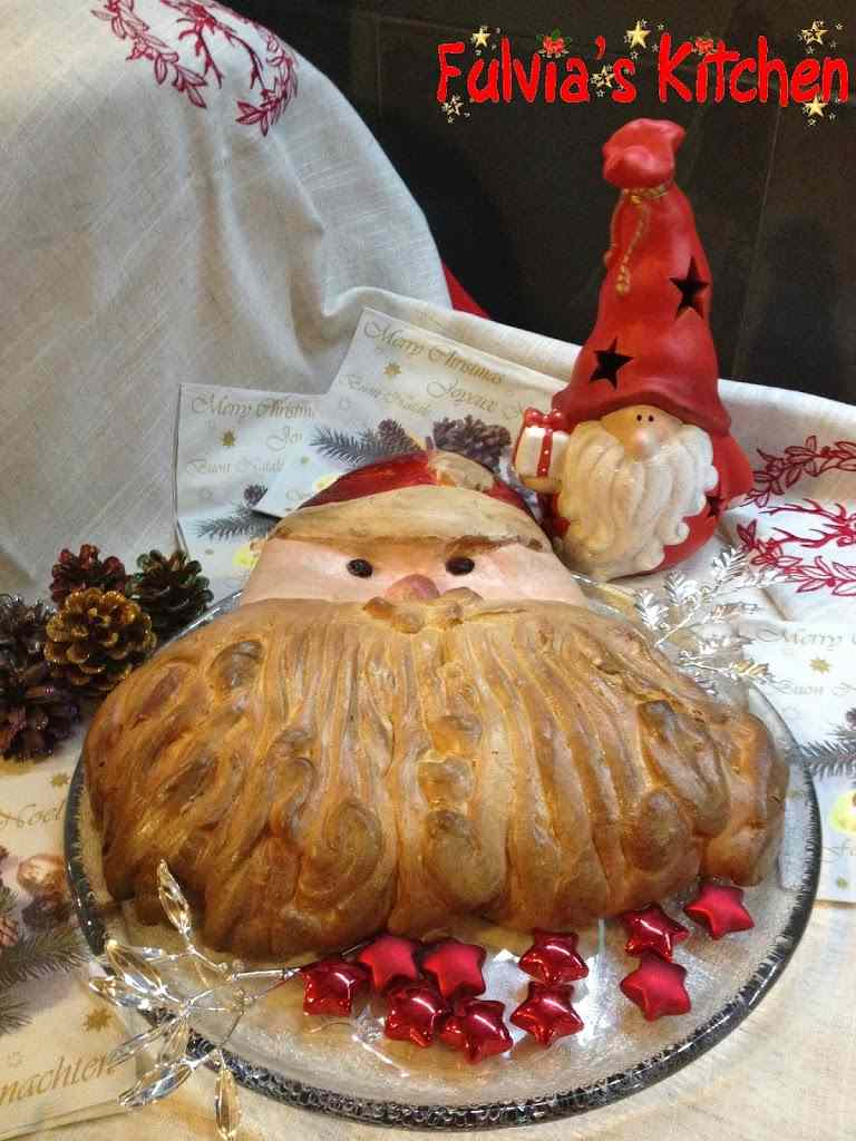 Ricetta: Babbo Natale di panbrioche
