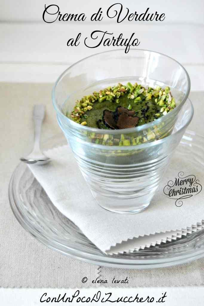 Ricetta: Crema di verdure al tartufo