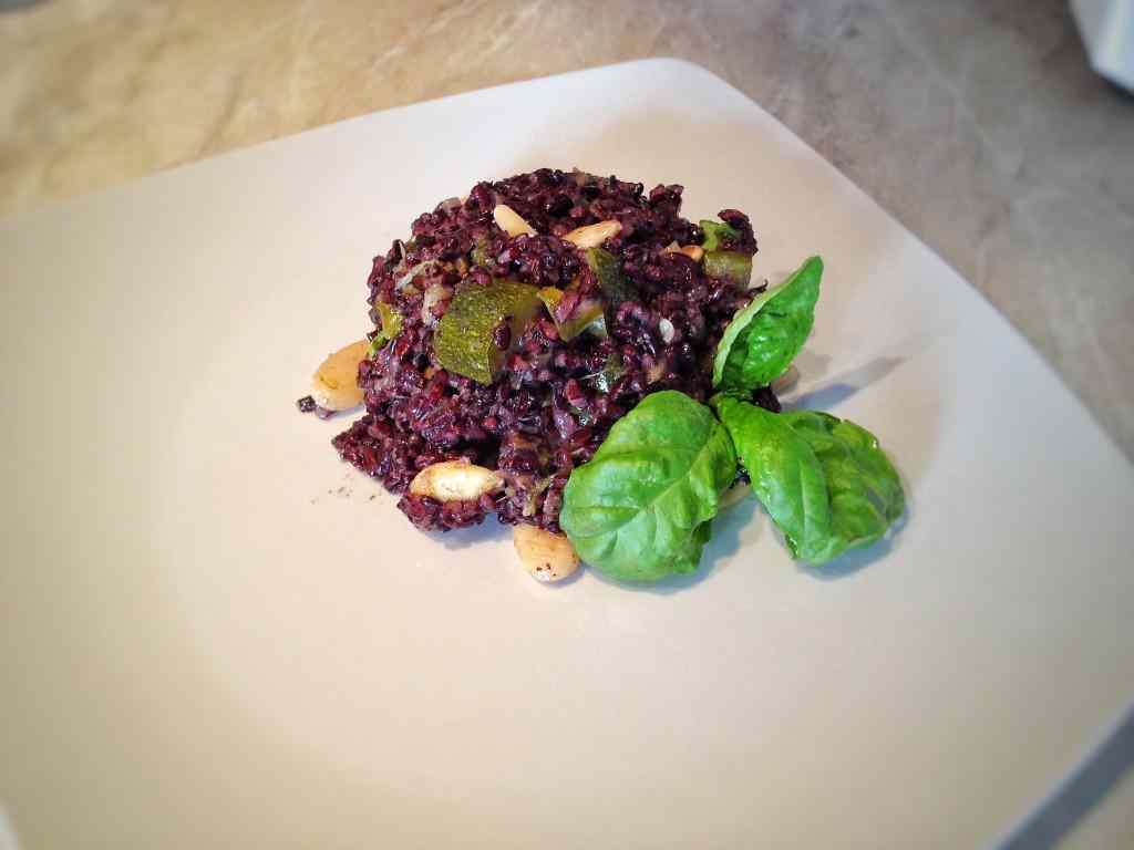 Ricetta: Riso nero Venere con verdure