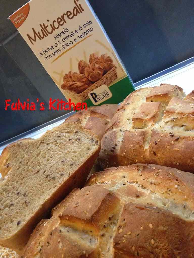 Ricetta: Pagnotte con pasta madre e Miscela Multicereali Molino Pagani