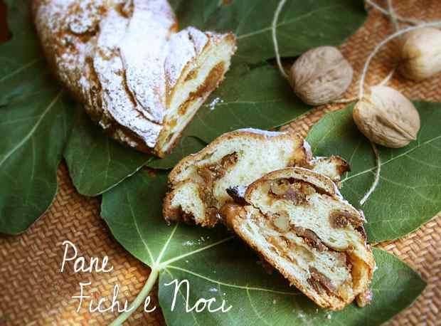 Ricetta: Pane fichi e noci