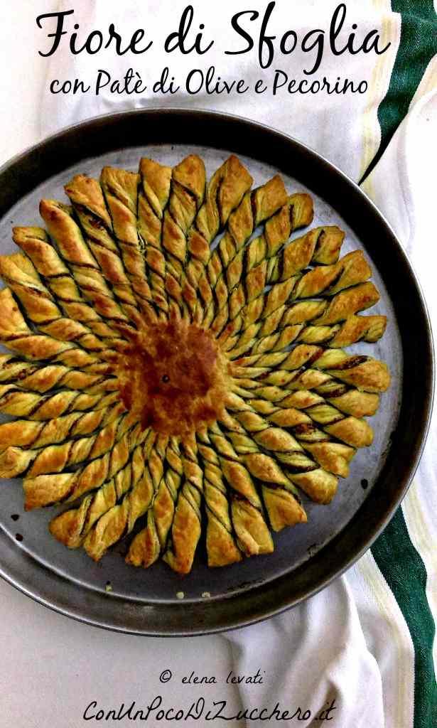 Ricetta: Fiore salato di sfoglia