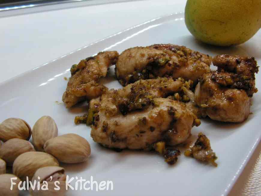 Ricetta: Straccetti di pollo ai pistacchi