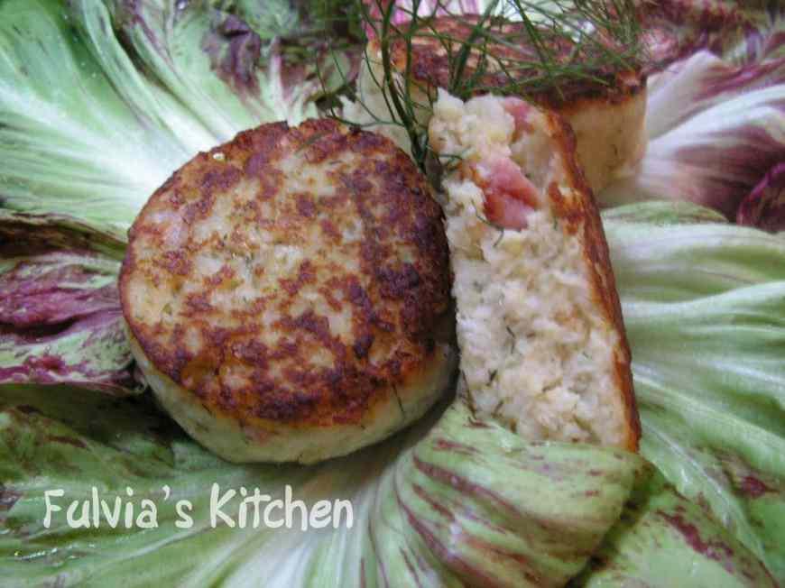 Ricetta: Mini hamburger di platessa