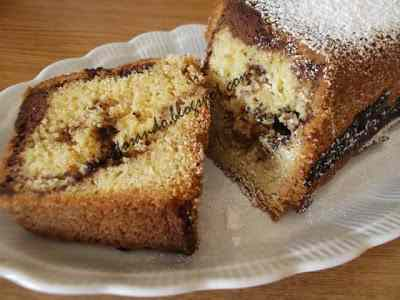 Ricetta: Torta variegata al cioccolato