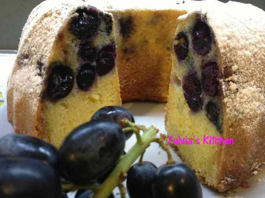 Ricetta: Ciambella all uva