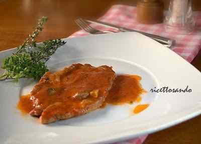 Ricetta: Bistecca di coppa di maiale alla pizzaiola