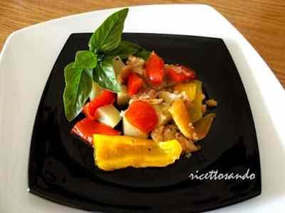 Ricetta: Tiella di peperoni e patate
