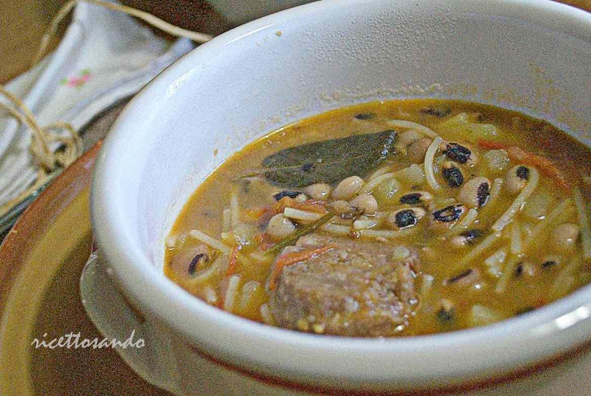 Ricetta: Zuppa di pasta fagioli
