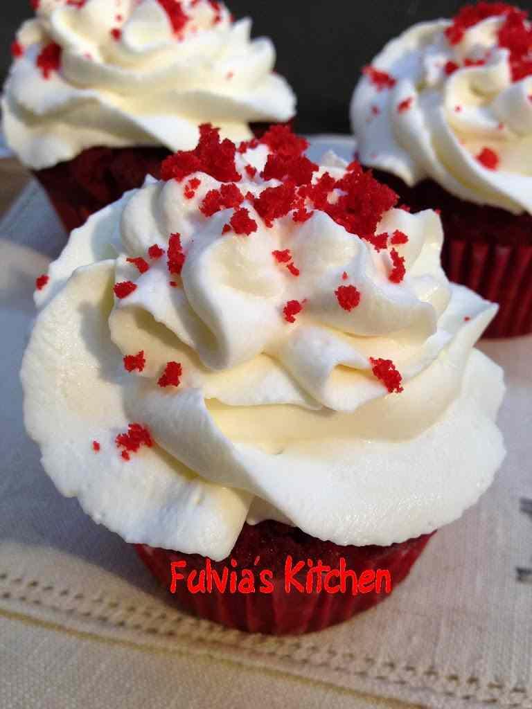 Ricetta: Red velvet cupcakes con nocciole a modo mio