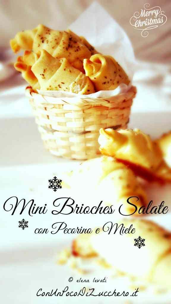 Ricetta: Brioches salate per Natale