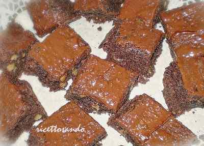 Ricetta: Brownies di cioccolato e noci