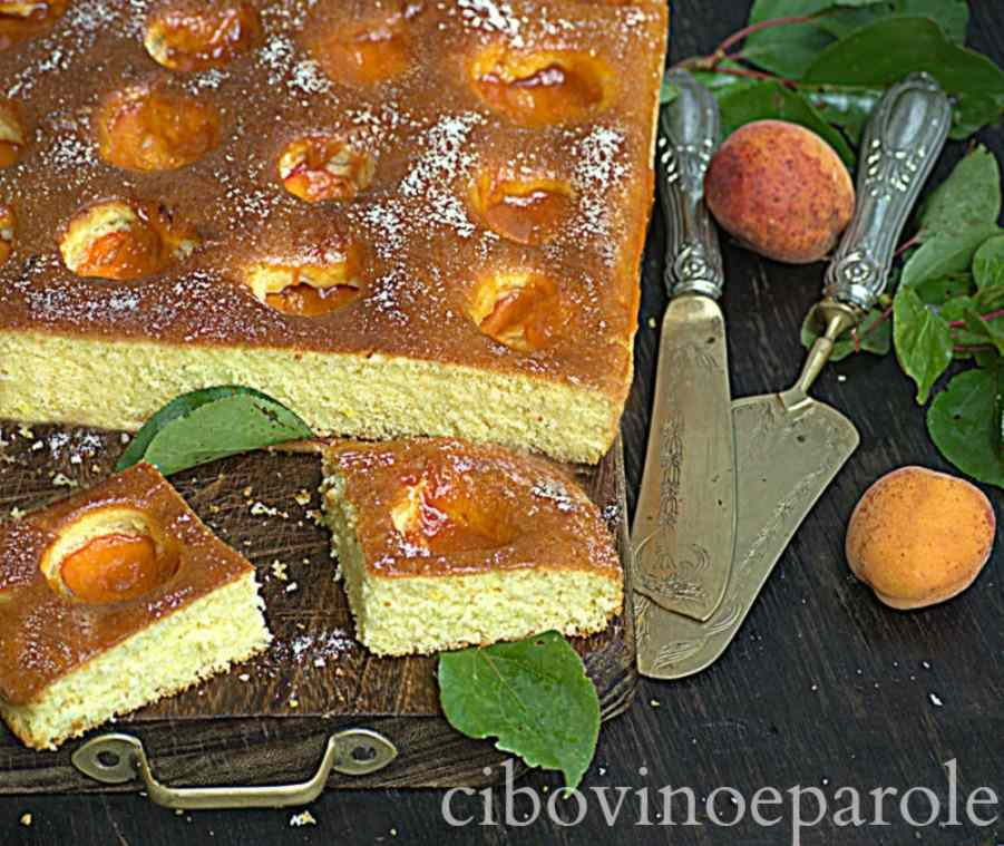 Ricetta: Marillenkuchen Torta di albicocche Tedesca