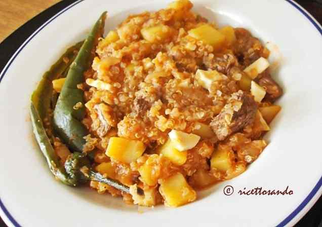 Ricetta: Pesche: piatto peruviano con quinoa