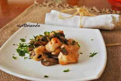 Ricetta: Bocconcini di pollo e funghi al cartoccio