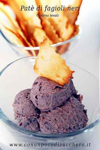 Ricetta: Pate di fagioli neri