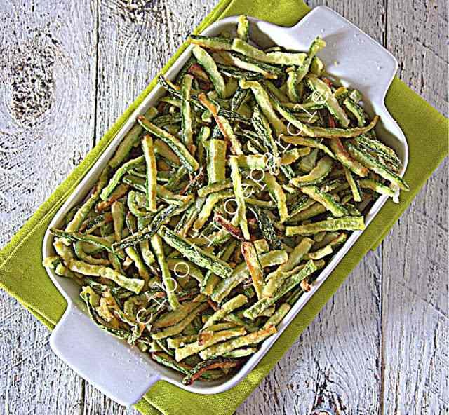 Ricetta: Zucchine fritte a fiammifero