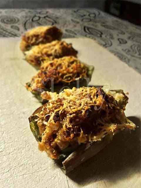 Ricetta: Carnoci - carciofi ripieni di noci e pomodori secchi