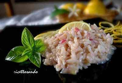Ricetta: Risotto limone e zenzero