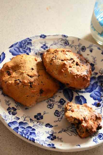 Ricetta: Biscotti con gocce di cioccolato fondente e ricotta