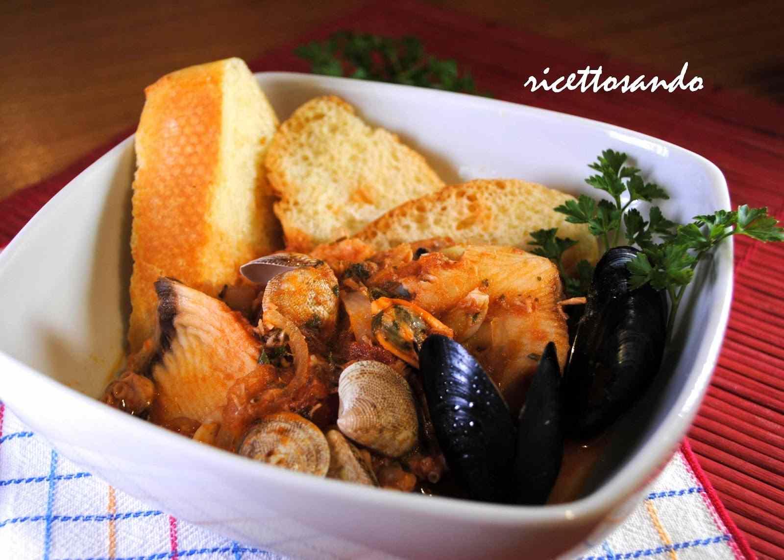 Ricetta: Zuppa di pesce caciucco