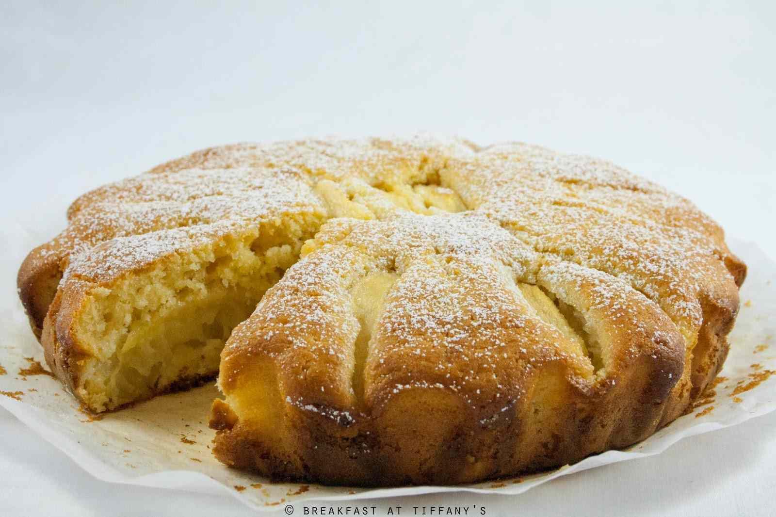 Ricetta: Torta di mele allo yogurt / yogurt apple cake recipe