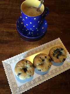 Ricetta: Muffin con mirtilli di bosco
